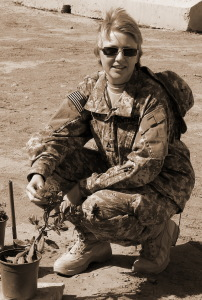 Terri Wonder in Iraq